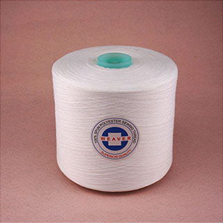Dyed yarn 44/2 100% spun polyester sewing thread from China Manufacturer